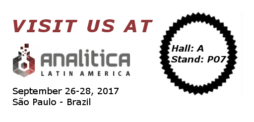 Visit us at Analitica Latin America